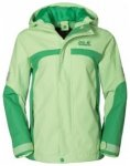 Jack Wolfskin Topaz Texapore Jacket Girls, green sorbet, Gr��e 104