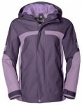 Jack Wolfskin Topaz Texapore Jacket Girls, prune, Gr��e 104
