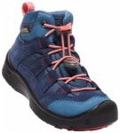 Keen Kids Hikeport Mid WP, dress blues/sugar coral, Gr��e 37