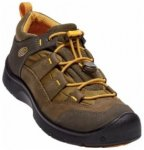 Keen Kids Hikeport WP, dark olive/citrus, Größe 24
