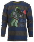 LEGO wear Terry 759 Star Wars Pullover, blue denim, Größe 104