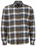 Marmot Fairfax Flannel Long Sleeve, vintage navy, Größe M