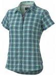 Marmot Womens Logan Short Sleeve, gem green, Gr��e S