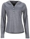 Marmot Womens Raena Long Sleeve, dark charcoal, Größe L