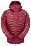 Mountain Equipment Womens Arete Hooded Jacket, sangria, Größe 14 UK