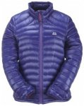 Mountain Equipment Womens Arete Jacket , indigo/iris zips, Größe 14 UK