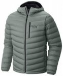 Mountain Hardwear StretchDown Hooded Jacket, thunderhead grey, Größe M