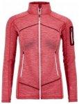 Ortovox Fleece Light Melange Jacket Women, hot coral, Größe M
