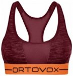 Ortovox Rock n Wool Sport Top Women, dark blood blend, Größe L