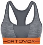 Ortovox Rock n Wool Sport Top Women, dark grey blend, Größe L
