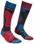 Ortovox Ski Rock n Wool Socks Women, night blue, Gr��e 42-44