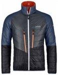 Ortovox Swisswool Light Piz Boval Jacket, crazy orange blend, Größe L