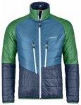 Ortovox Swisswool Light Piz Boval Jacket, night blue blend, Gr��e S