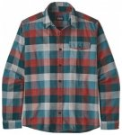Patagonia Lightweight Fjord Flannel Shirt, u. piki green UNPG, Gr��e X