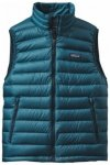 Patagonia Mens Down Sweater Vest, deep sea blue DSE, Größe S