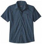Patagonia Mens Go To Shirt, stone blue SMSE, Größe M