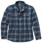 Patagonia Mens L/S Buckshot Shirt, nesting/crater blue NSCB, Größe S