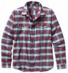 Patagonia Mens L/S Buckshot Shirt, potter/classic red PTCR, Größe XXL