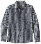 Patagonia Mens Longsleeve Fezzman Shirt, diver small blue DVNV, Größe S