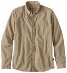 Patagonia Mens LS Bluffside Cord Shirt, el cap khaki ELKH, Größe S
