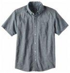Patagonia Mens LW Bluffside Shirt, chambray blue CHBY, Größe M