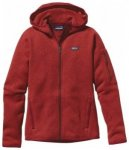 Patagonia Womens Better Sweater Full-Zip Hoody, cochineal red COCR, Größe S