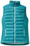 Patagonia Womens Down Sweater Vest, tobago blue TBGB, Größe XL