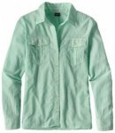 Patagonia Womens LW A/C Buttondown, sprinkle green SPKG, Größe M