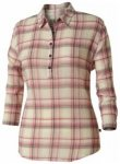 Royal Robbins Oasis Plaid Popover Women, creme, Größe S