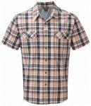 Royal Robbins Summertime Plaid S/S, deep blue, Größe M