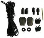 Salomon Quicklace Kit, black, Größe One size