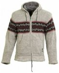 Shakaloha Flaka Hood Jacket, grey, Größe S