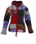 Shakaloha Rib Patchwork Hood Women, bright colored, Größe M