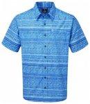 Sherpa Adventure Gear Durbar Short Sleeve Shirt, langtang blue print, Gr�ï
