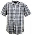 The North Face Short Sleeve Stanage Woven, vaporous grey EY8, Größe M