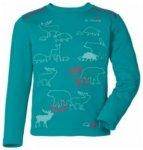 VAUDE Kids Zodiak LS Shirt V, reef, Größe 134/140