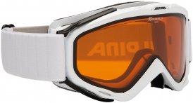 Alpina Damen Spice Doubleflex Hicon Skibrille Weiß