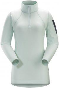 Arcteryx Damen Rho LT Zip Shirt Blau XS