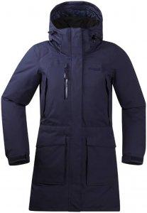 Bergans Damen Granitt Down Mantel Blau XL