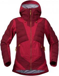 Bergans Damen Hemsedal Hybrid Jacke Rot M