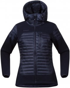 Bergans Damen Osen Down/Wool Jacke Blau M