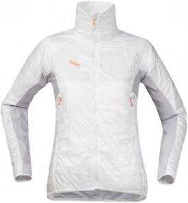 Bergans Damen Slingsby Ins Hybrid Jacke Weiß M