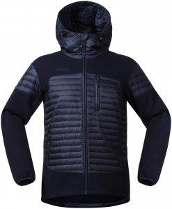 Bergans Herren Osen Down/Wool Jacke Blau L