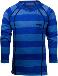 Bergans Kinder Fjellrapp Shirt Blau 116