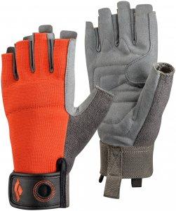 Black Diamond Crag Half-Finger Handschuh Rot