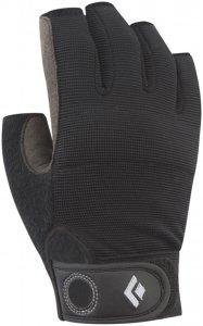 Black Diamond Crag Half-Finger Handschuh Schwarz XL