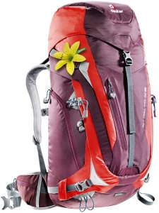 Deuter Damen ACT Trail Pro 38 SL Rucksack Lila