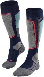 Falke Damen SK 2 Socke Blau 37, 38
