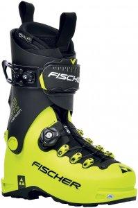 Fischer Herren Travers Carbon Skitourenstiefel Gelb 41, 41.5