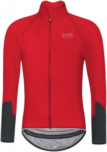 Gore Bike Wear Herren Power WS SO Jacke Rot S